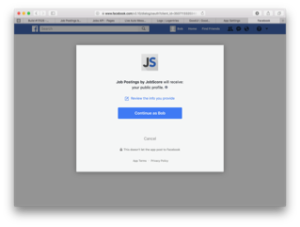 Facebook partnership